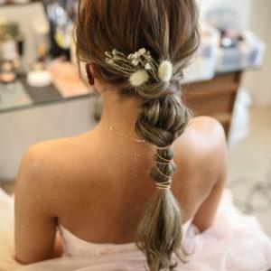 カラードレスヘア