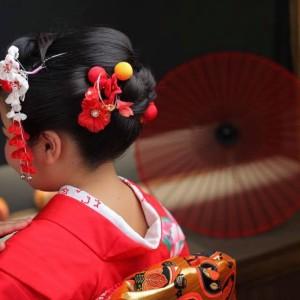 7歳日本髪